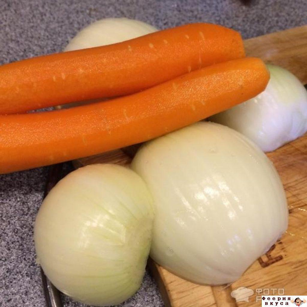Морковь картофель лук рецепт пошагово