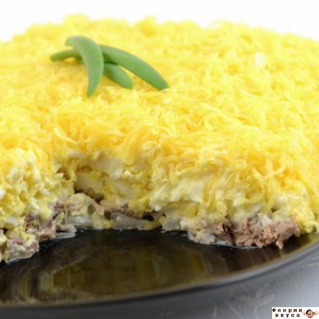 Рецепт салата мужские грезы с говядиной пошагово